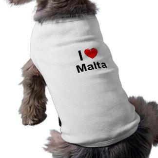 T-shirt J'aime le coeur Malte