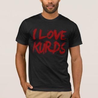 T-shirt J'aime le cool de Kurdes