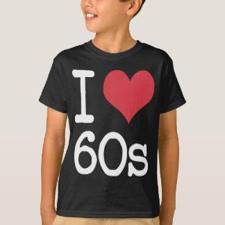 T-shirt J'aime le cru 60s et les rétros conceptions !