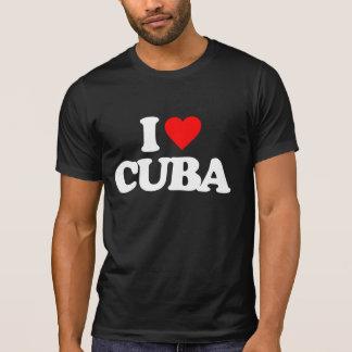 T-SHIRT J'AIME LE CUBA