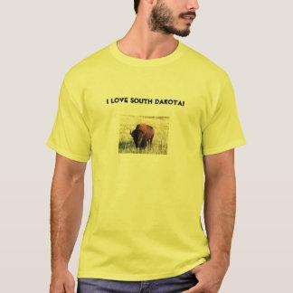 T-shirt J'aime le Dakota du Sud !