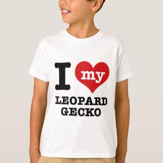 T-shirt J'aime le GECKO de LÉOPARD