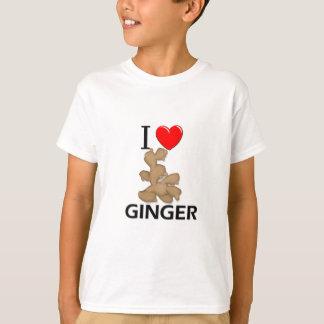 T-shirt J'aime le gingembre
