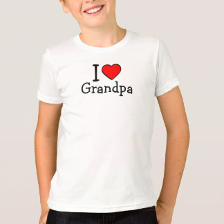 T-shirt J'aime le grand-papa !