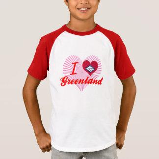 T-shirt J'aime le Groenland, Arkansas