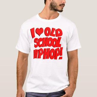 T-shirt J'aime le hip hop de vieille école !