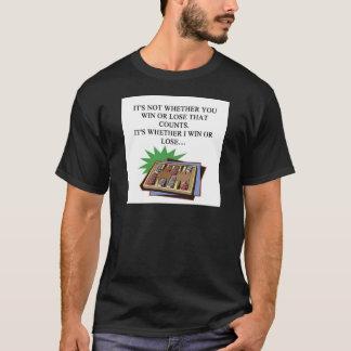 T-shirt j'aime le joueur de bakgammon