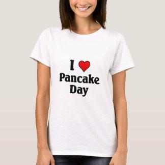 T-shirt J'aime le jour de crêpe