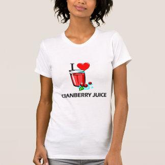 T-shirt J'aime le jus de canneberge