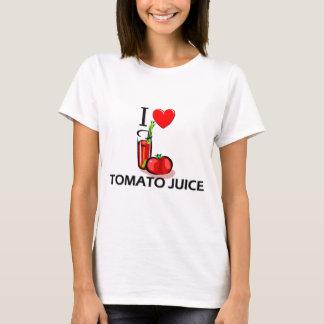 T-shirt J'aime le jus de tomates