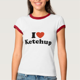 T-shirt J'aime le ketchup