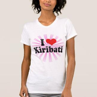 T-shirt J'aime le Kiribati