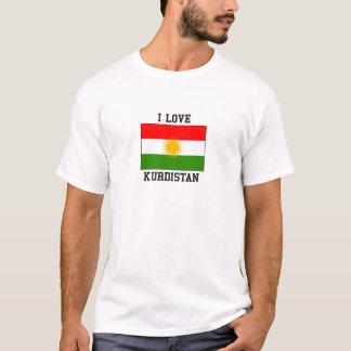 T-shirt J'aime le Kurdistan