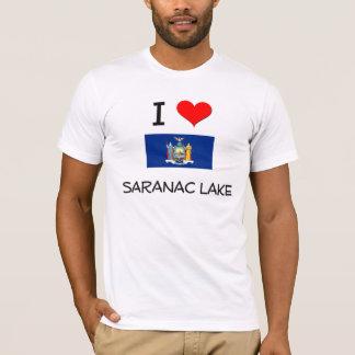 T-shirt J'aime le lac New York Saranac