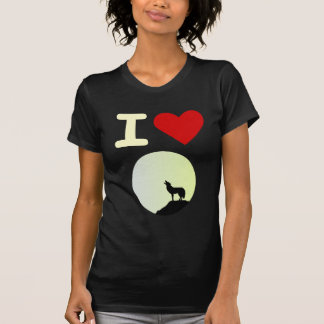 T-shirt J'aime le loup