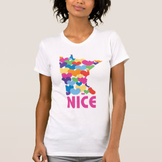T-shirt J'aime le Minnesota