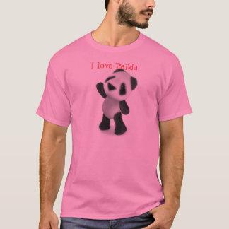 T-shirt J'aime le panda