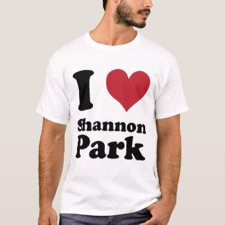 T-shirt J'AIME le parc de Shannon