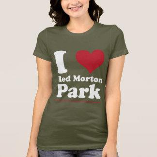 T-shirt J'AIME le parc rouge de Morton