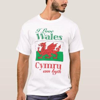 T-shirt J'aime le Pays de Galles