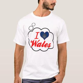 T-shirt J'aime le Pays de Galles, Utah