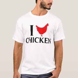 T-shirt J'aime le poulet