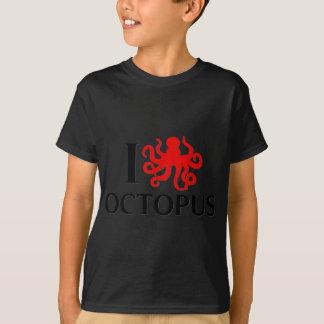T-shirt J'aime le poulpe