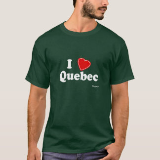 T-shirt J'aime le Québec