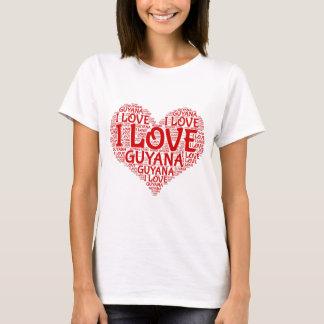 T-shirt J'aime le souvenir de la Guyane