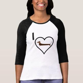 T-shirt J'aime le teckel