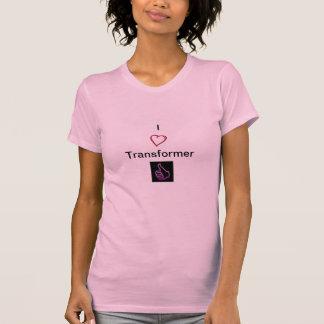 T-shirt J'aime le transformateur