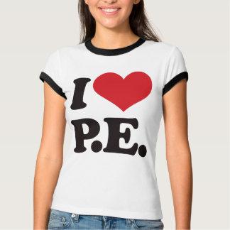 T-shirt J'aime l'éducation physique !