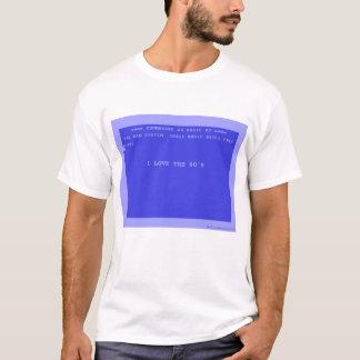 T-shirt J'aime les années 80