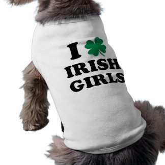 T-shirt J'aime les filles irlandaises