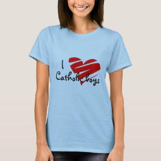 T-shirt J'aime les garçons catholiques, chemise,