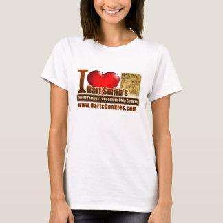 T-shirt J'aime les gâteaux aux pépites de chocolat de