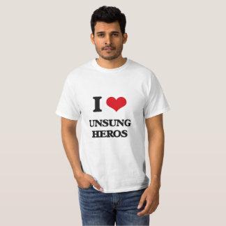 T-shirt J'aime les héros méconnus