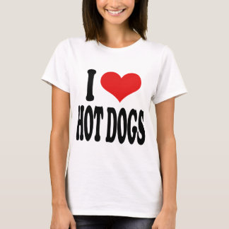 T-shirt J'aime les hot-dogs