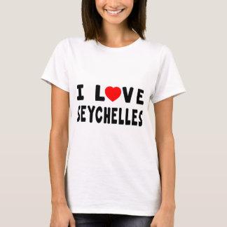 T-shirt J'aime les Seychelles
