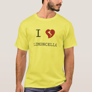 T-shirt J'aime Limoncello