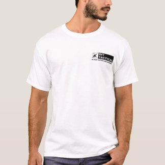 T-shirt J'aime l'odeur du nylon pendant le matin