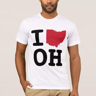 T-shirt J'aime l'Ohio