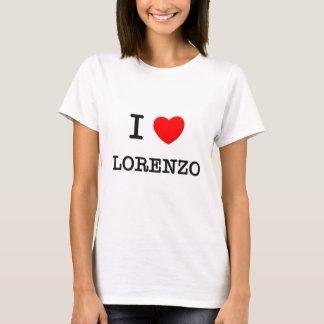 T-shirt J'aime Lorenzo