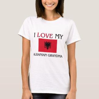 T-shirt J'aime ma grand-maman albanaise