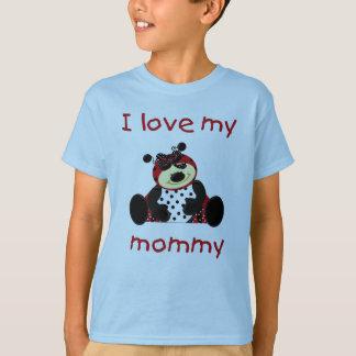 T-shirt J'aime ma maman (la coccinelle de fille)