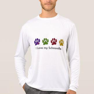 T-shirt J'aime ma promenade de Schoodle la chemise de