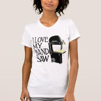 T-shirt J'aime ma scie à ruban