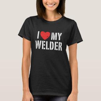 T-shirt J'aime ma soudeuse