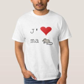T-shirt J'aime Ma Souris