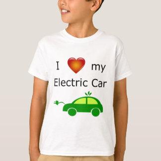 T-shirt J'aime ma voiture électrique